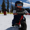 Wyatt Hits the Slopes with his Ski Bike!