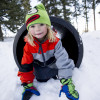 Adventures of Zabel: The World's Largest Snowfort at Kidtopia
