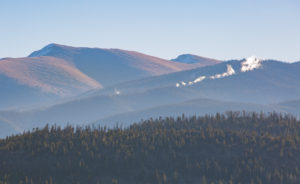View of snowmaking on Schoolmarm Silver Spoon