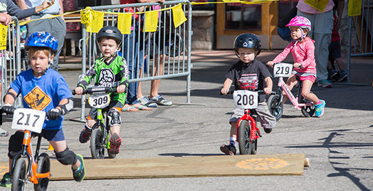 Strider Balance Bike Race, Summer Programs, Kidtopia, Keystone, CO